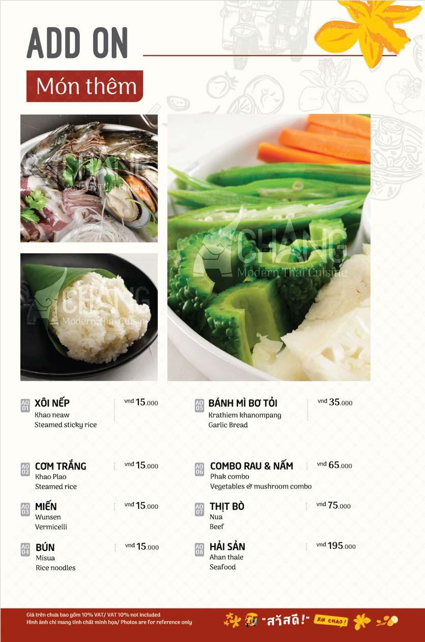 Menu Chang - Phan Xích Long  24