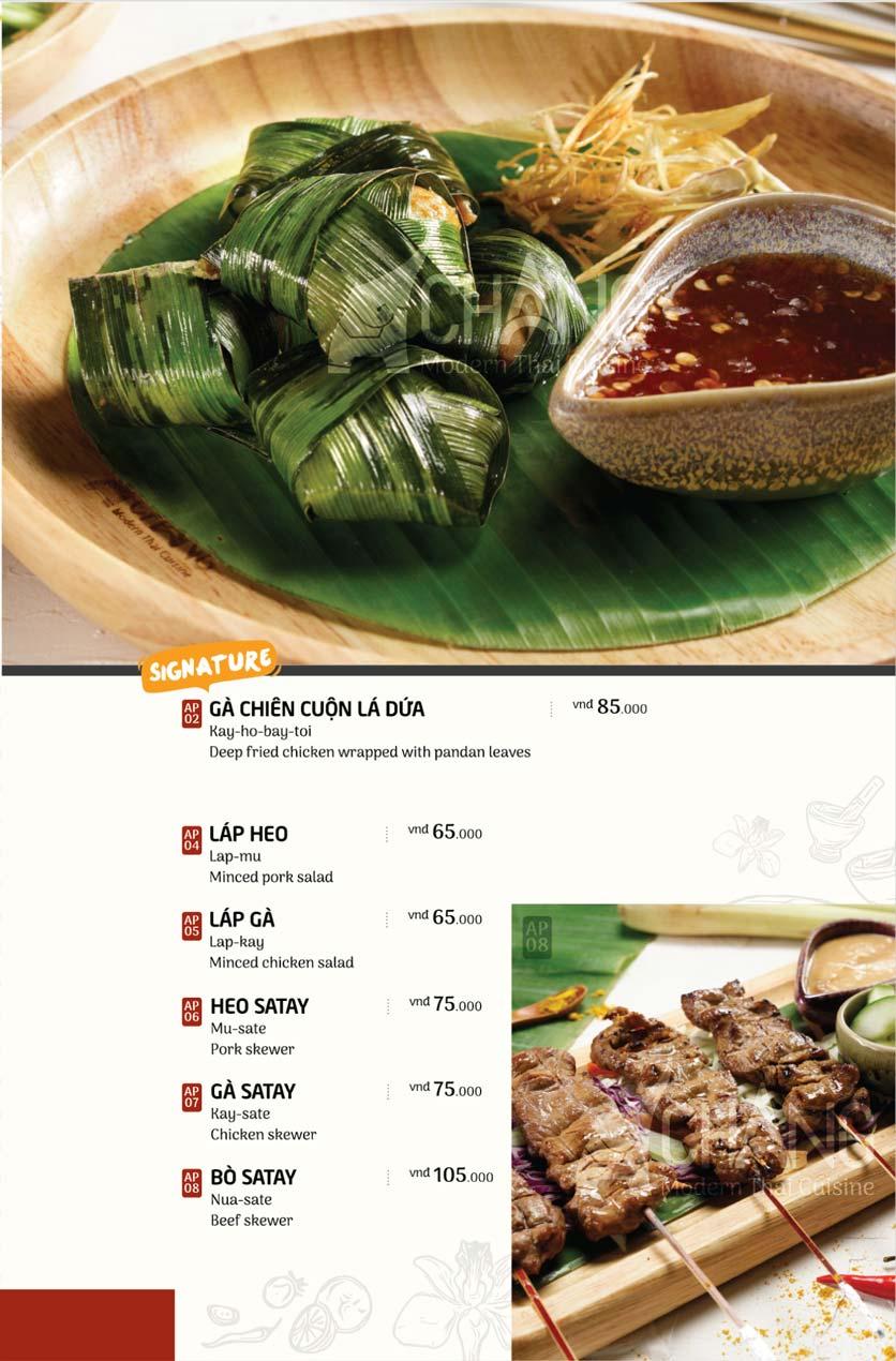 Menu Chang - Phan Xích Long  3