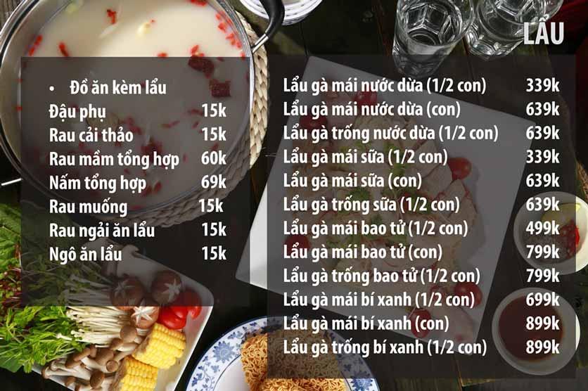 Menu Chicken One - Cơm Gà Đệ Nhất 9