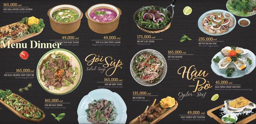 Menu Hoàng Yến Cuisine – Lê Duẩn  1