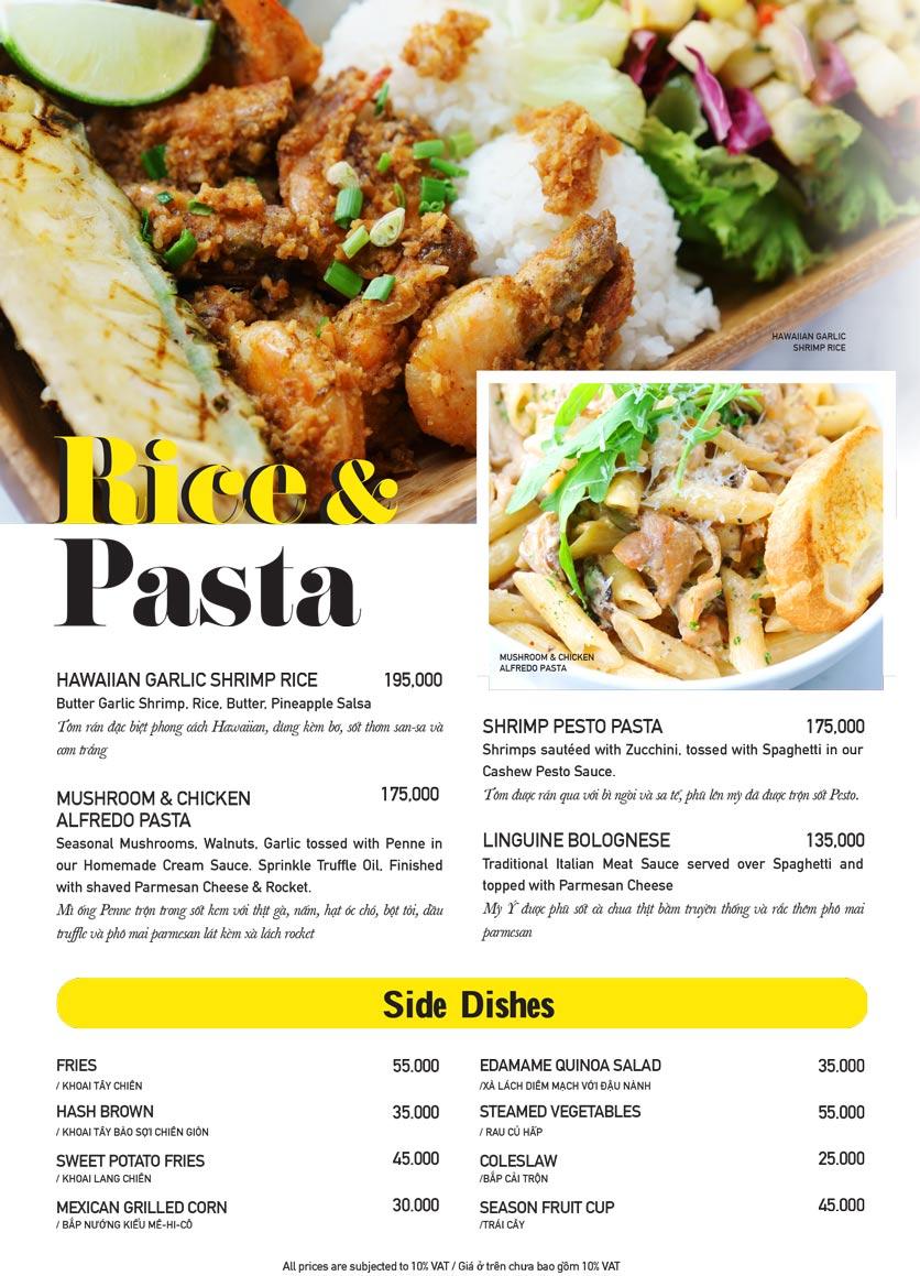 Menu The Diner V - Nguyễn Đình Chiểu 13