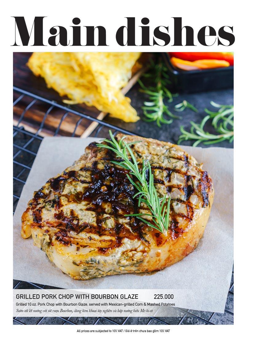Menu The Diner V - Nguyễn Đình Chiểu 14