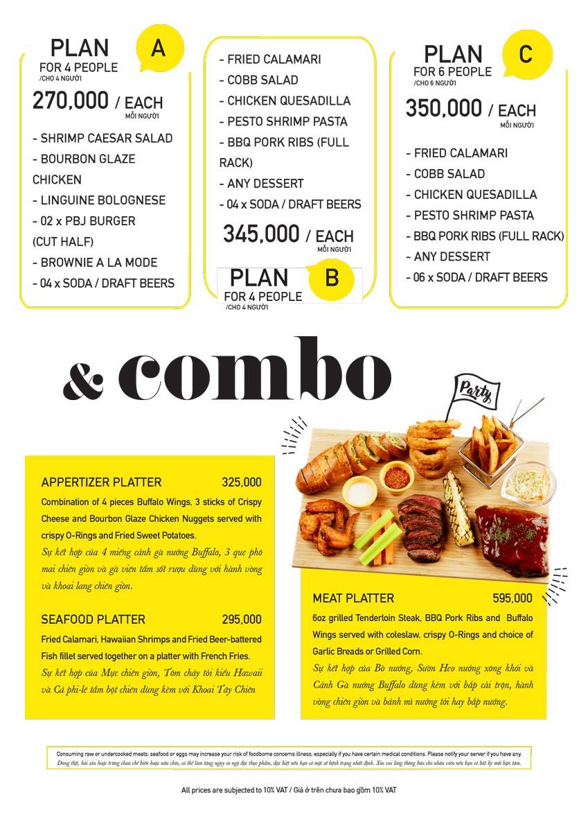 Menu The Diner V - Nguyễn Đình Chiểu 16