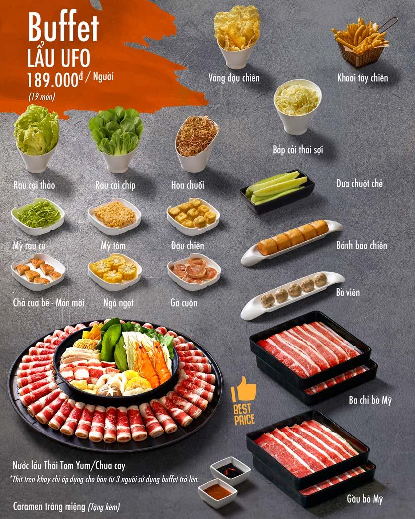 Menu Food House - Nam Kỳ Khởi Nghĩa  1