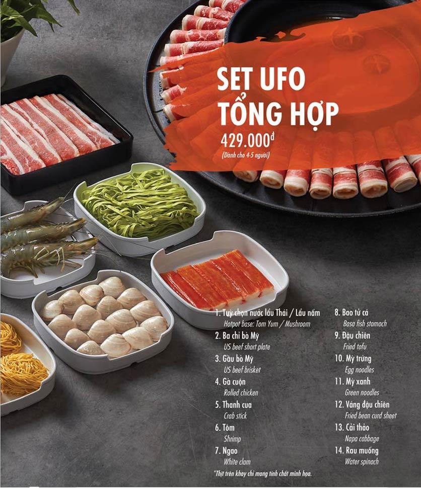 Menu Food House – Thái Hà  2