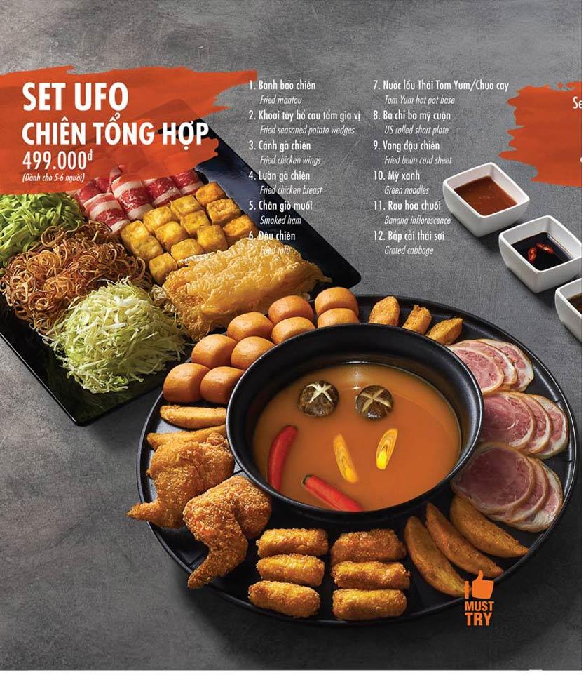 Menu Food House – Thái Hà  3