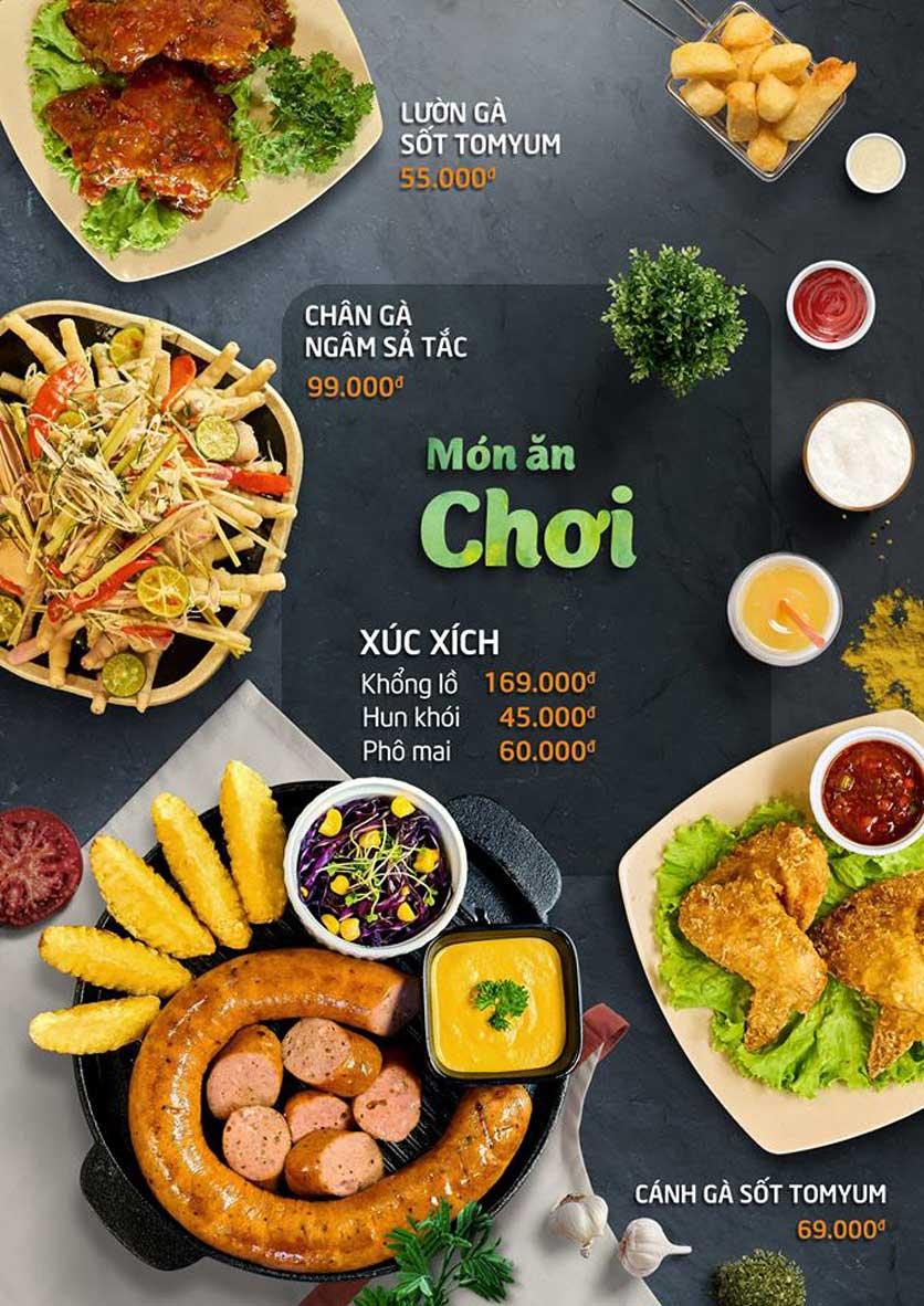 Menu Food Center – Trần Phú 5