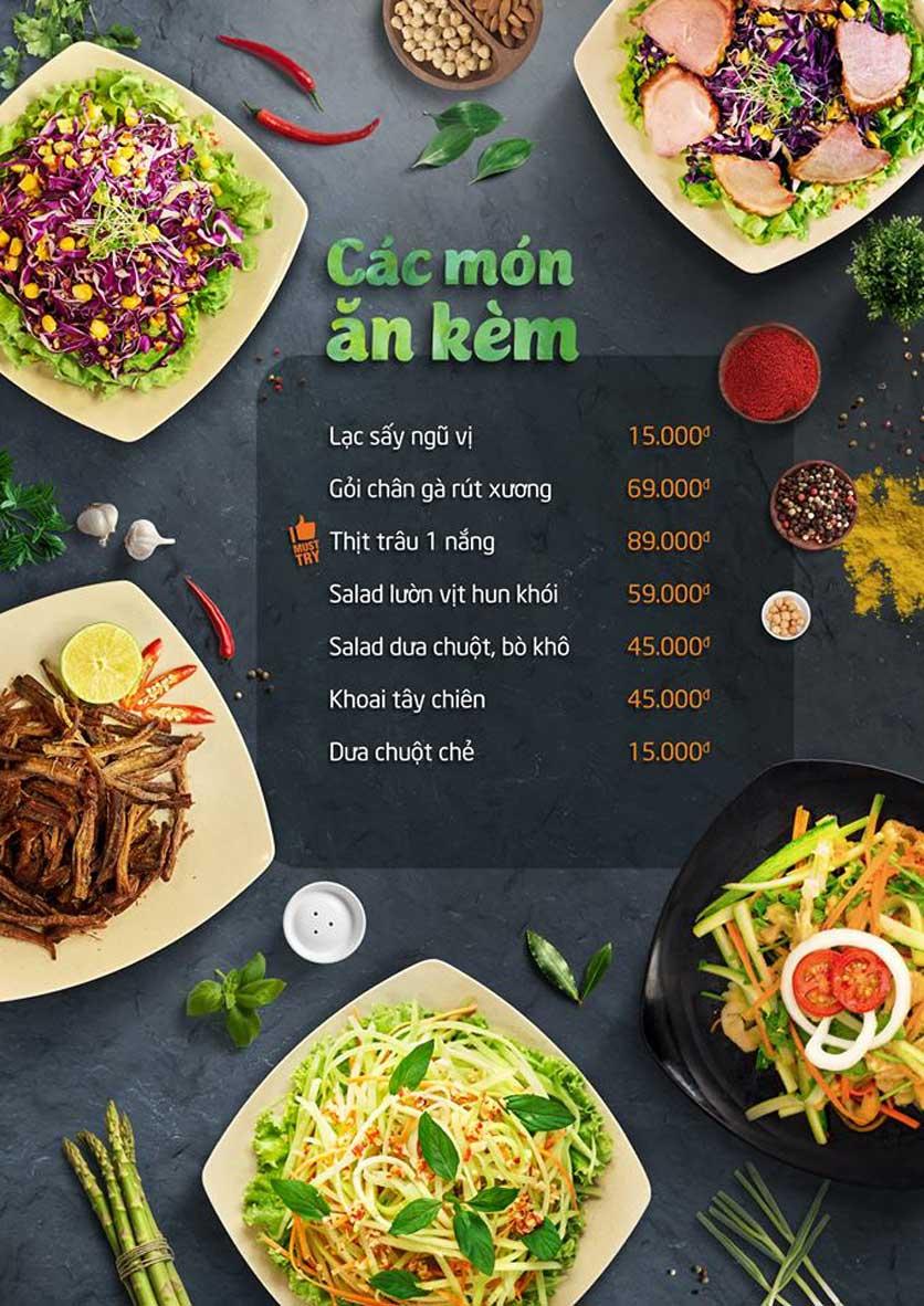 Menu Food Center – Trần Phú 6
