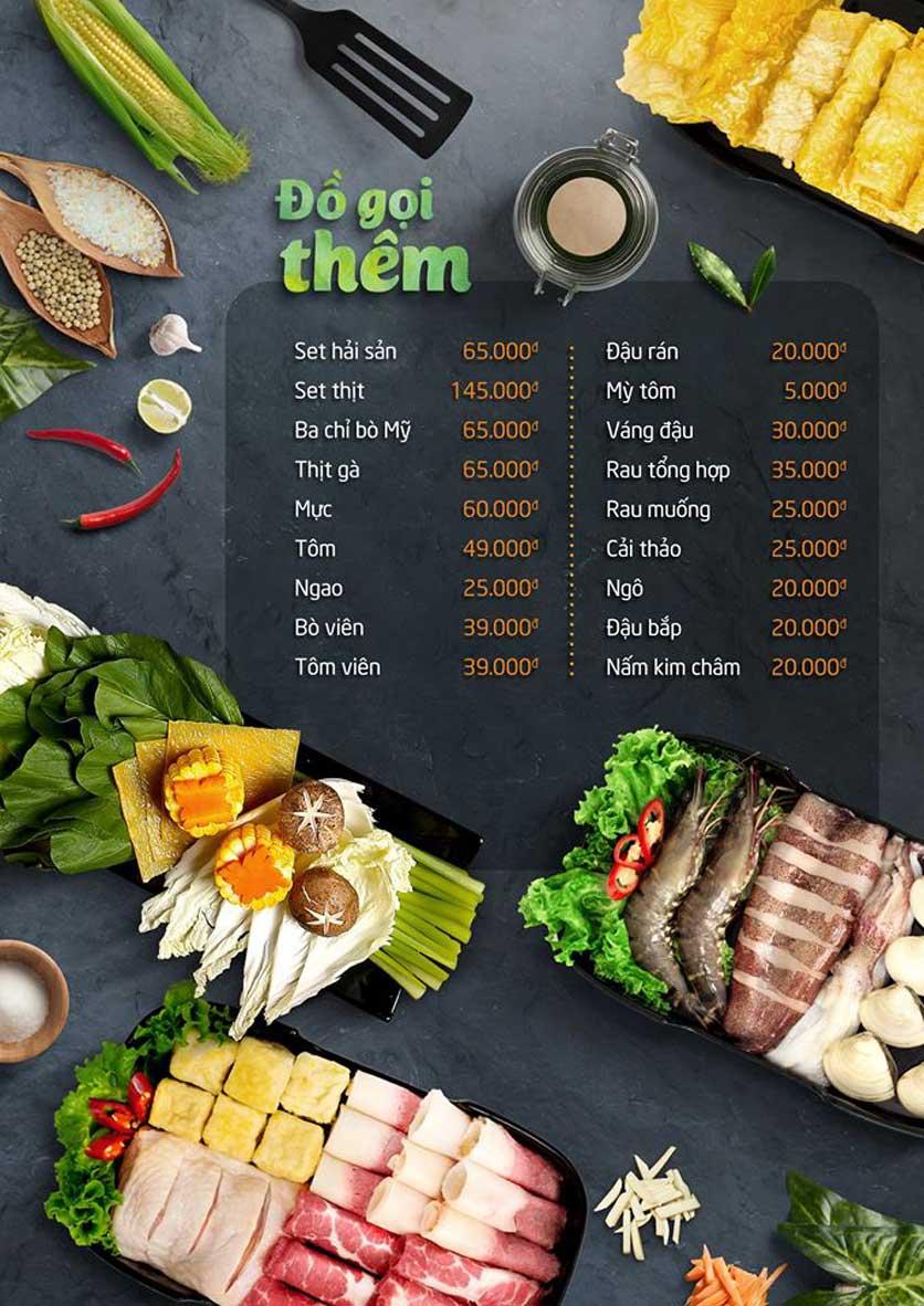 Menu Food Center – Trần Phú 7