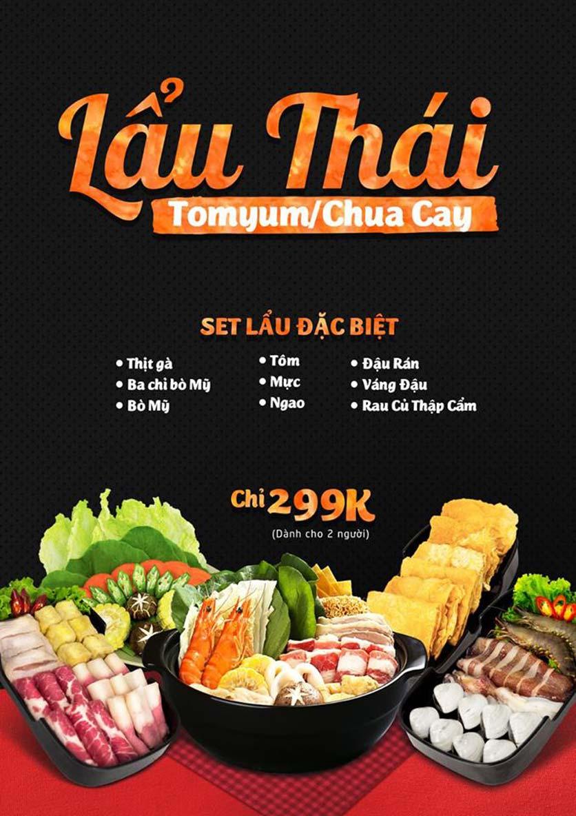 Menu Food Street – Quang Trung 3