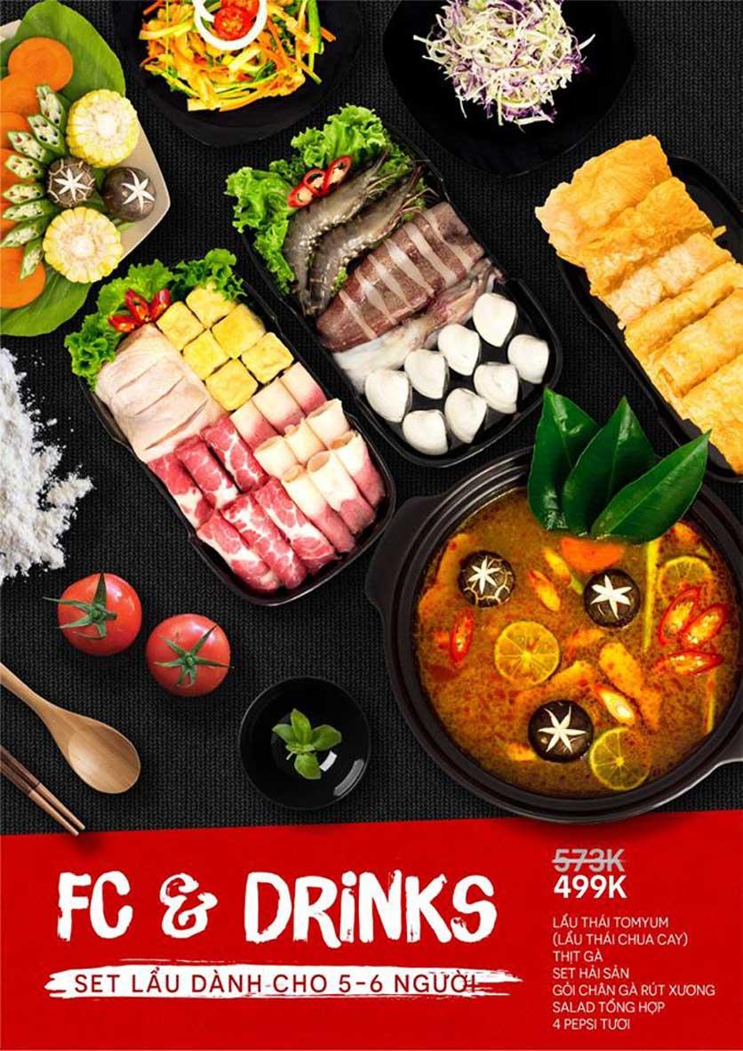 Menu Food Street – Quang Trung 4