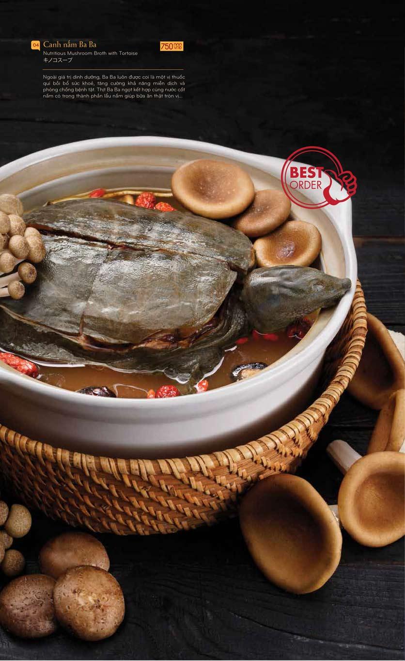 Menu Lẩu Nấm Ashima - Hoàng Đạo Thúy  9