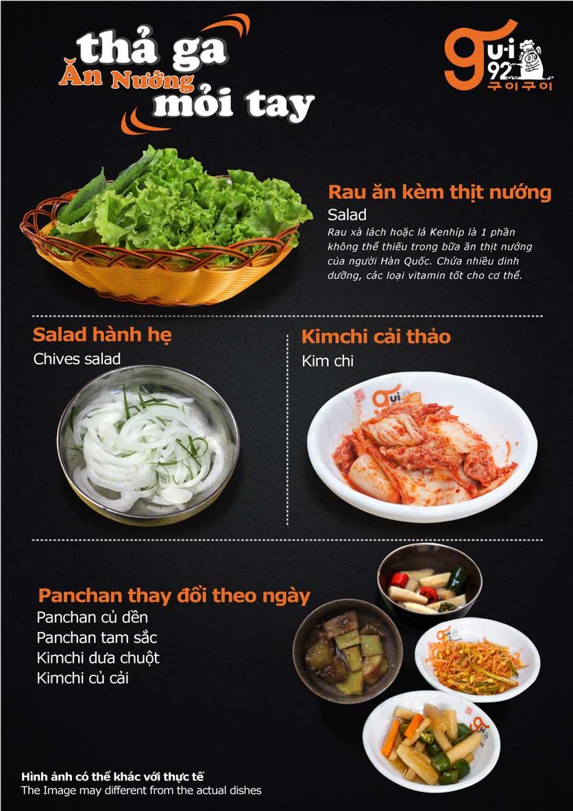 Menu Gu-i92 BBQ - Trần Hưng Đạo 9
