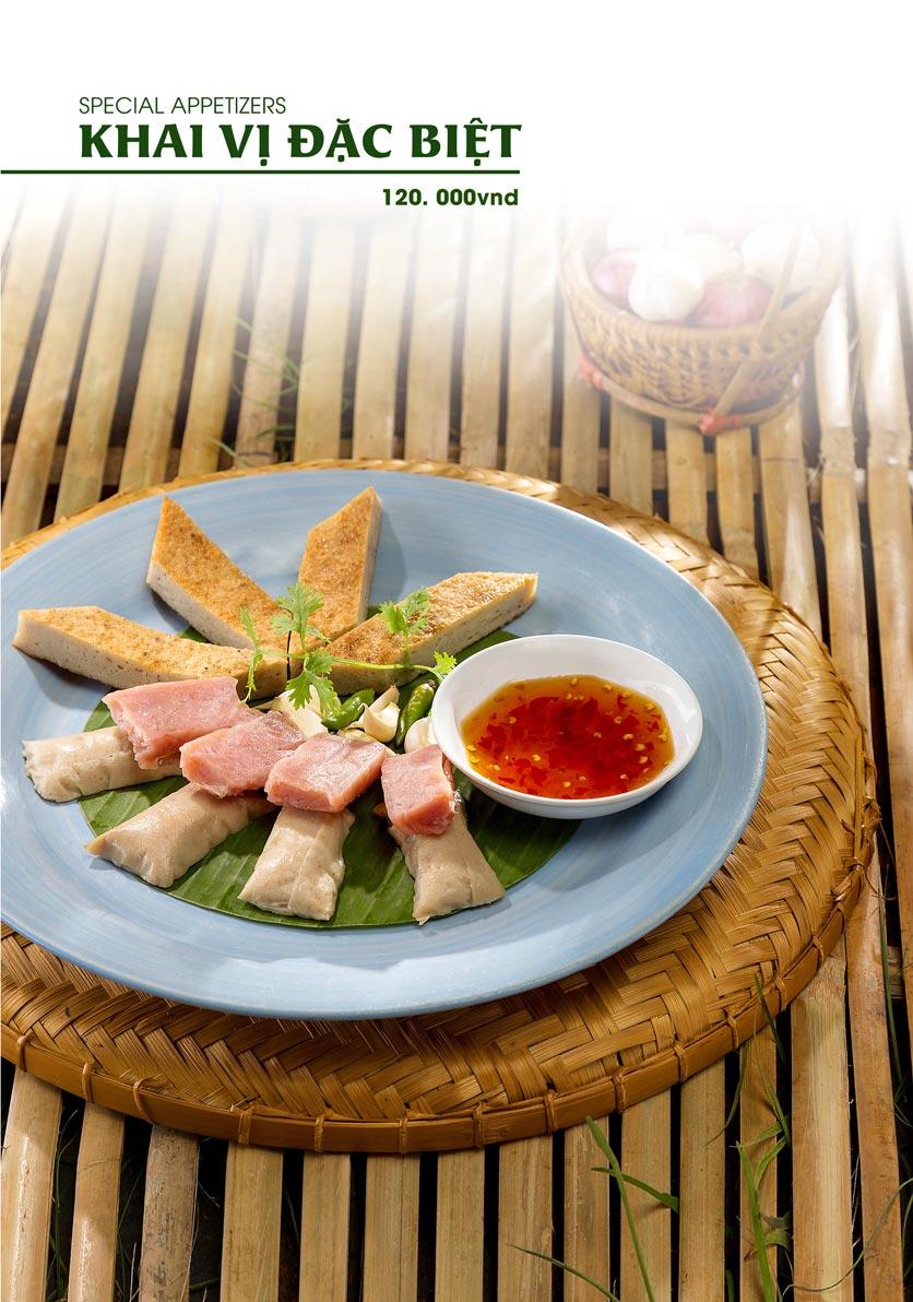 Menu Gánh - Đặc Sản Nha Trang - Landmark 81 1