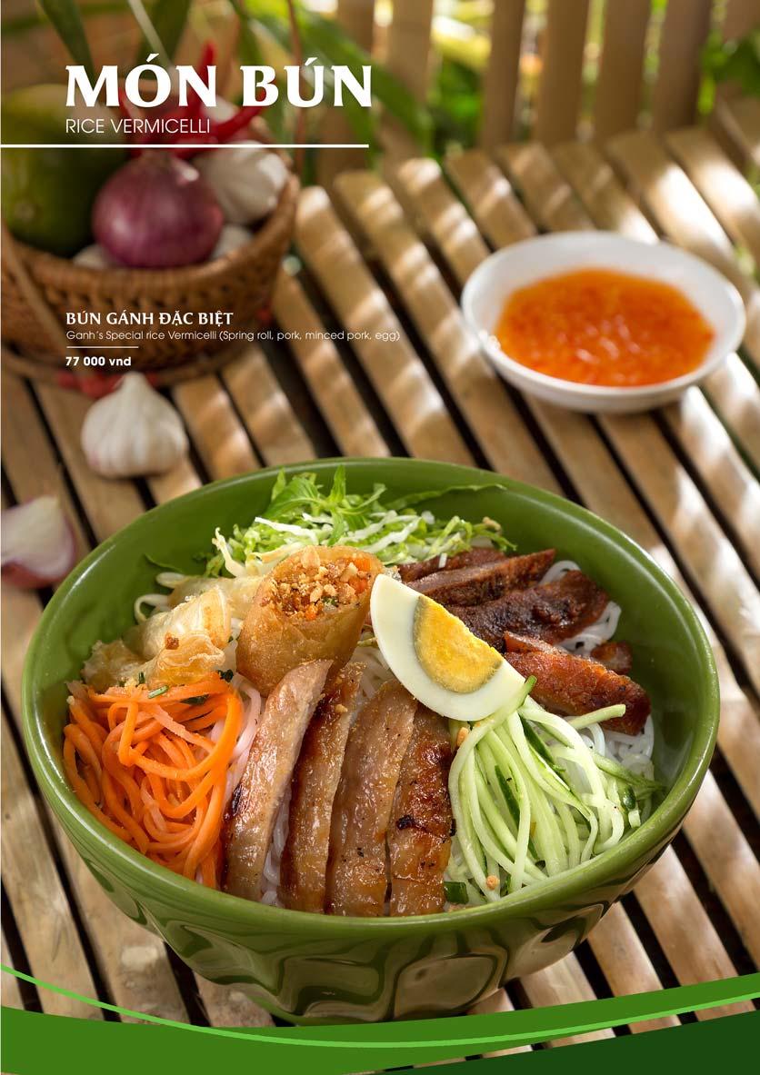 Menu Gánh - Đặc Sản Nha Trang - Landmark 81 11