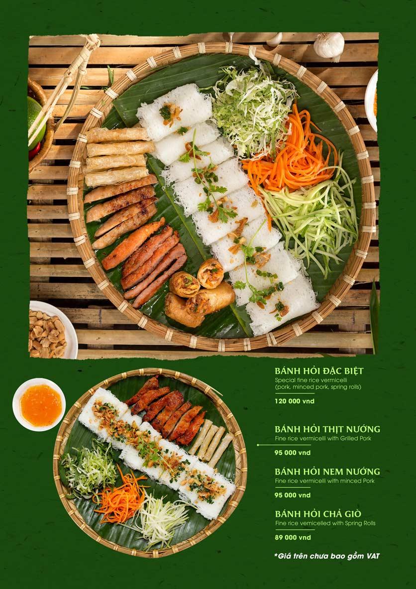 Menu Gánh - Đặc Sản Nha Trang - Landmark 81 16