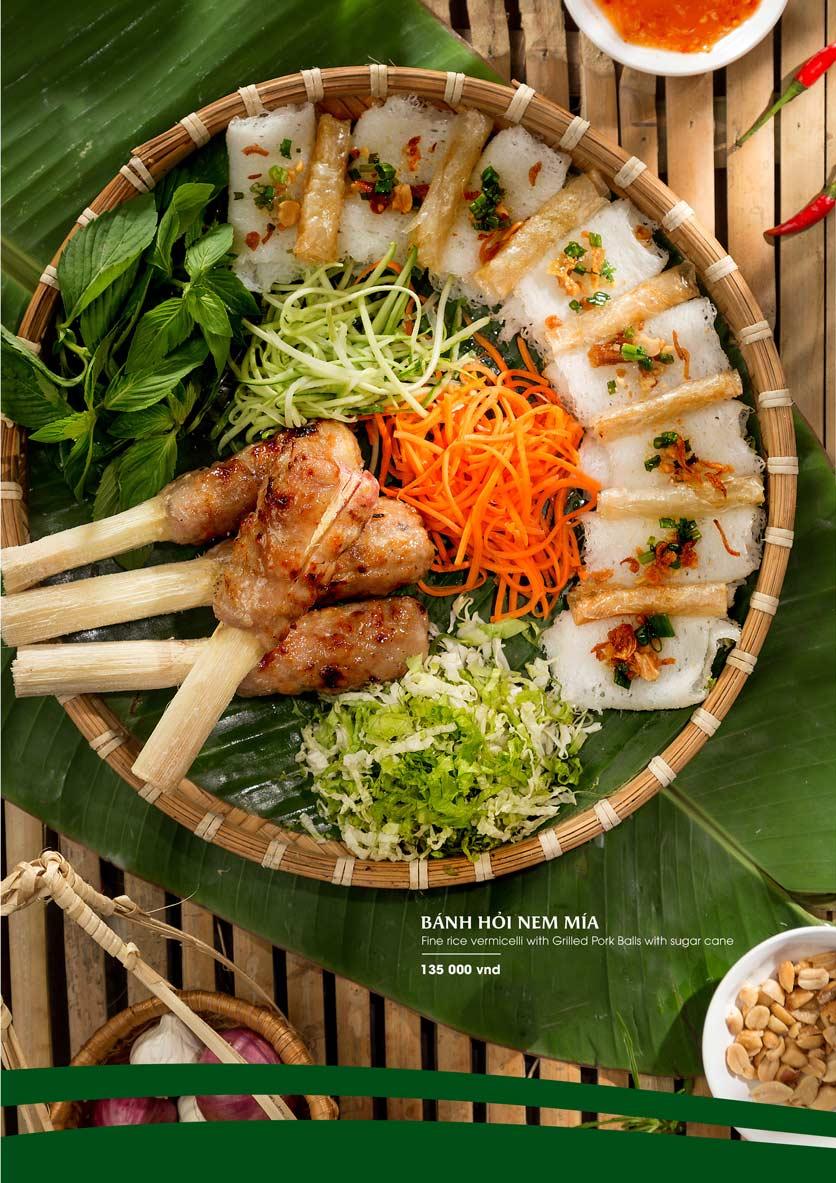 Menu Gánh - Đặc Sản Nha Trang - Landmark 81 17