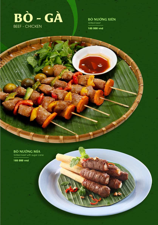 Menu Gánh - Đặc Sản Nha Trang - Landmark 81 19