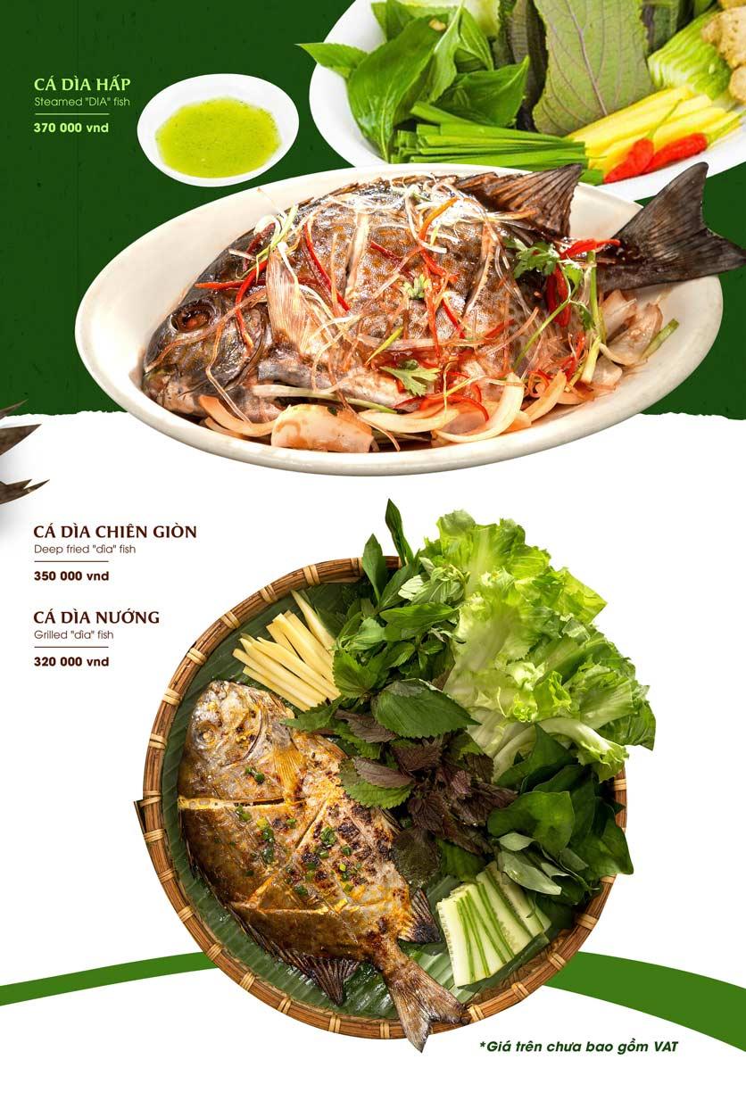 Menu Gánh - Đặc Sản Nha Trang - Landmark 81 24