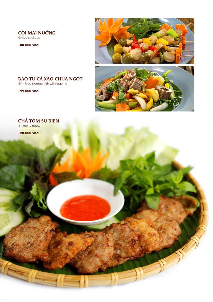 Menu Gánh - Đặc Sản Nha Trang - Landmark 81 25