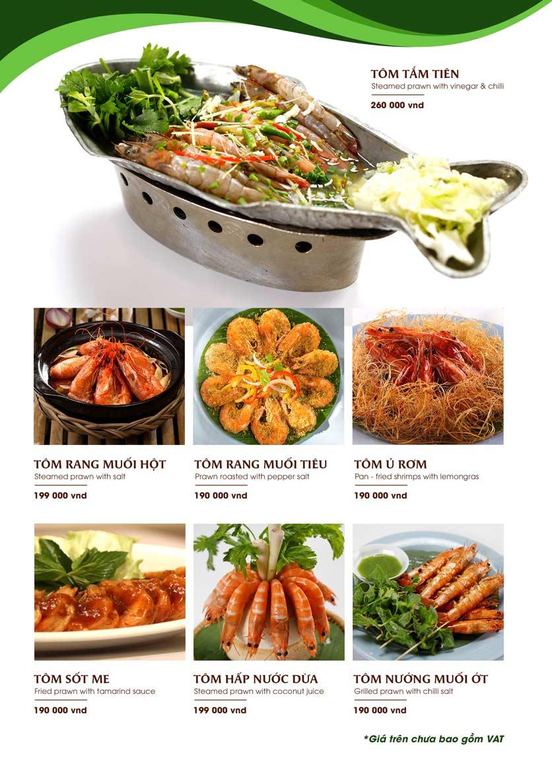 Menu Gánh - Đặc Sản Nha Trang - Landmark 81 28