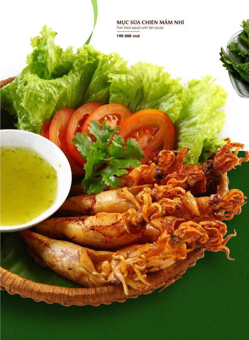 Menu Gánh - Đặc Sản Nha Trang - Landmark 81 29