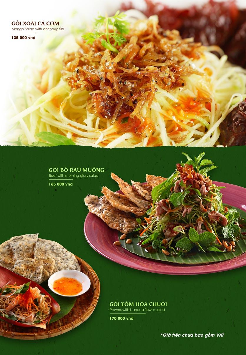 Menu Gánh - Đặc Sản Nha Trang - Landmark 81 4