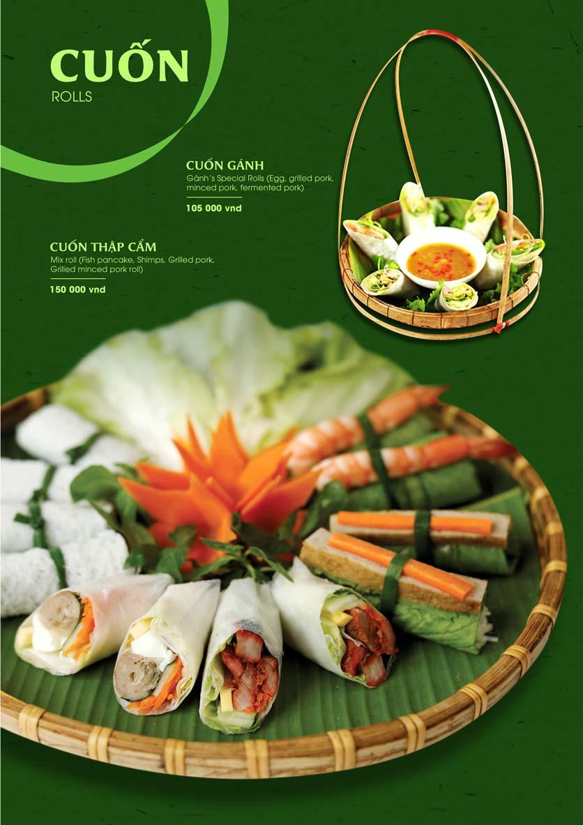 Menu Gánh - Đặc Sản Nha Trang - Landmark 81 7