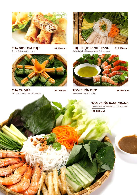 Menu Gánh - Đặc Sản Nha Trang - Landmark 81 9