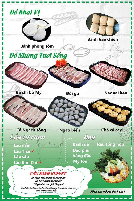 Menu HP3 Buffet Lẩu - Nguyễn Văn Lộc 4