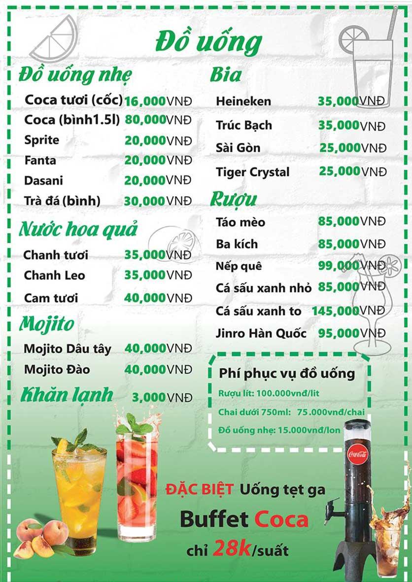 Menu HP3 Buffet Lẩu - Nguyễn Văn Lộc 7
