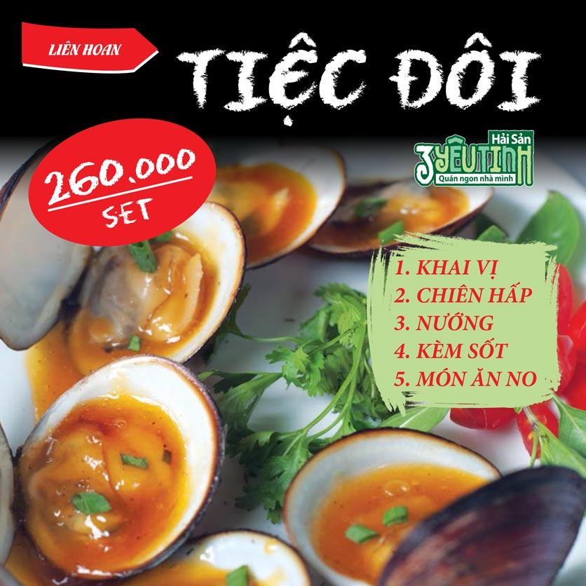 Menu Hải Sản 3 Yêu Tinh - Trần Quang Diệu 22