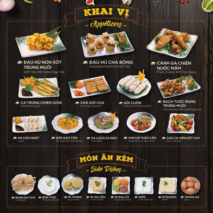 Menu Hoàng Yến Hotpot - Phú Mỹ Hưng 16