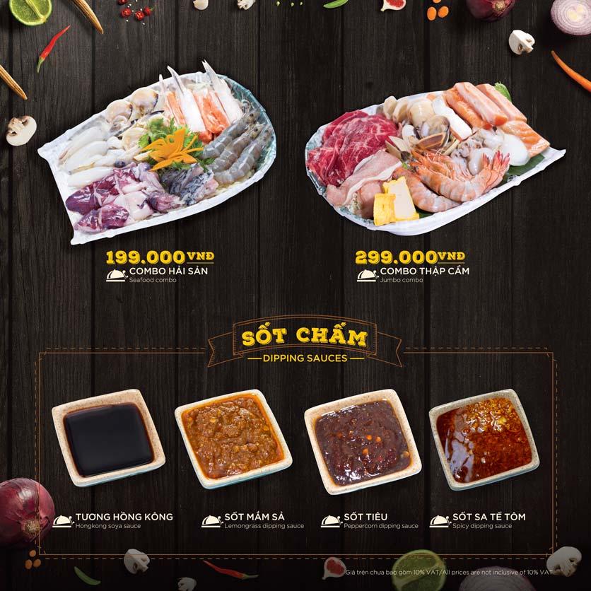 Menu Hoàng Yến Hotpot - Phú Mỹ Hưng 34