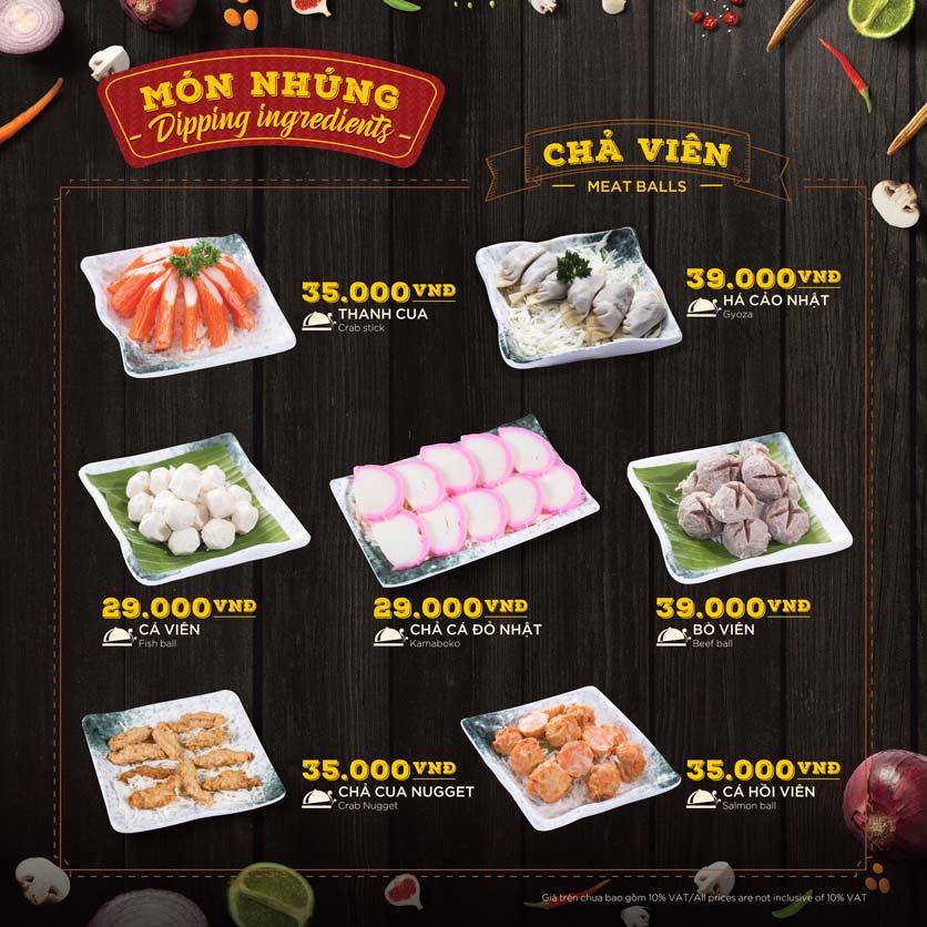 Menu Hoàng Yến Hotpot - Phú Mỹ Hưng 35
