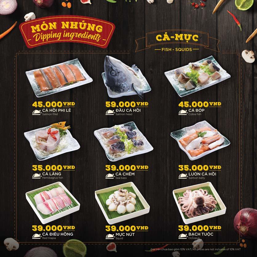Menu Hoàng Yến Hotpot - Phú Mỹ Hưng 37