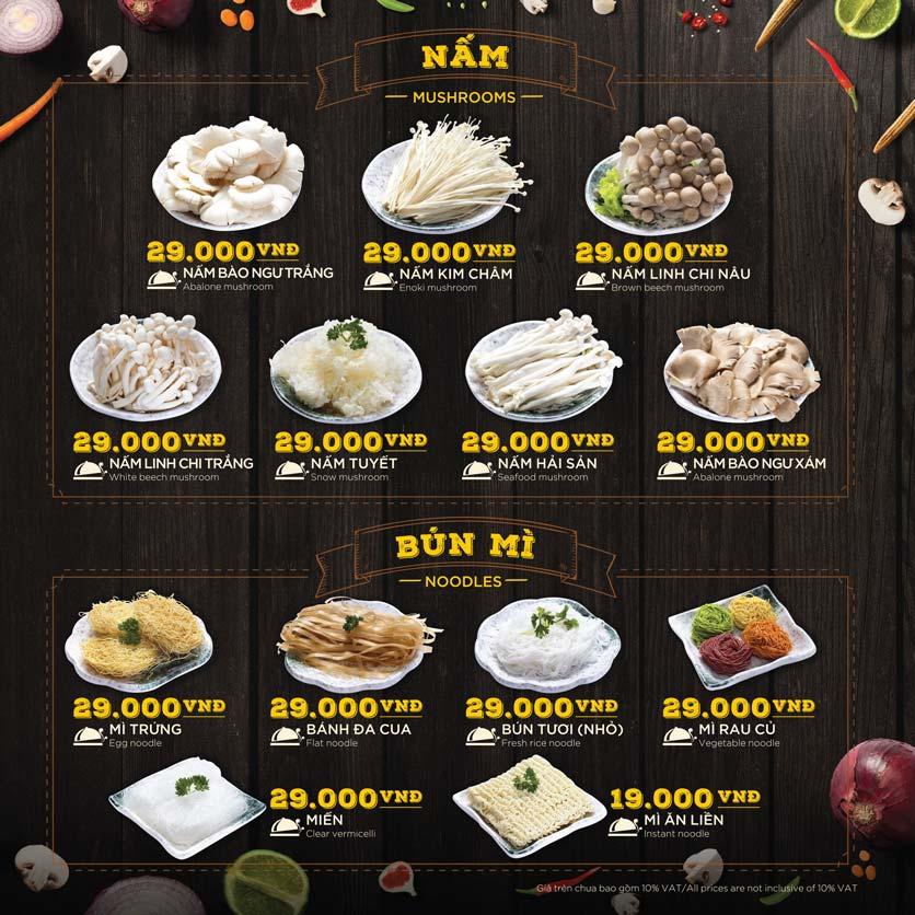 Menu Hoàng Yến Hotpot - Phú Mỹ Hưng 40