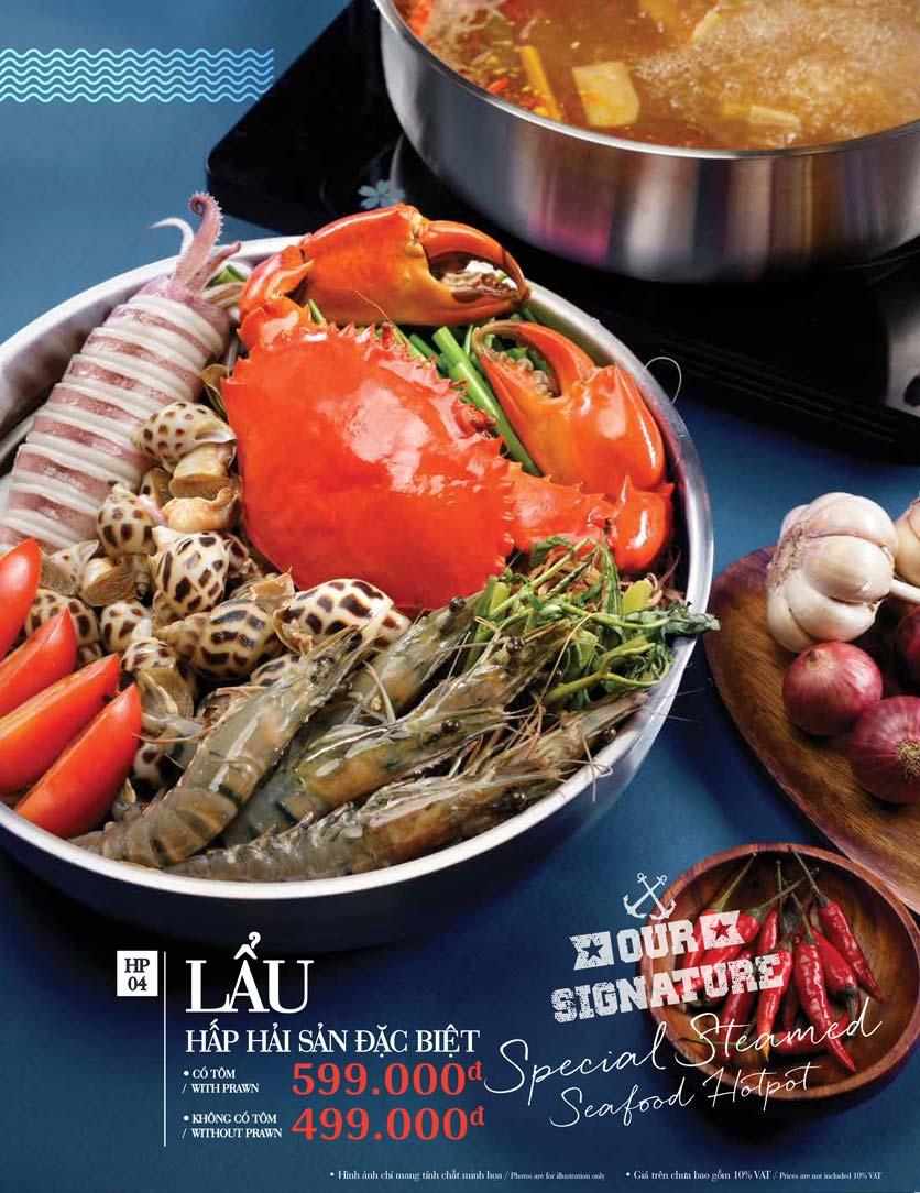 Menu Holy Crab – Phan Xích Long  18