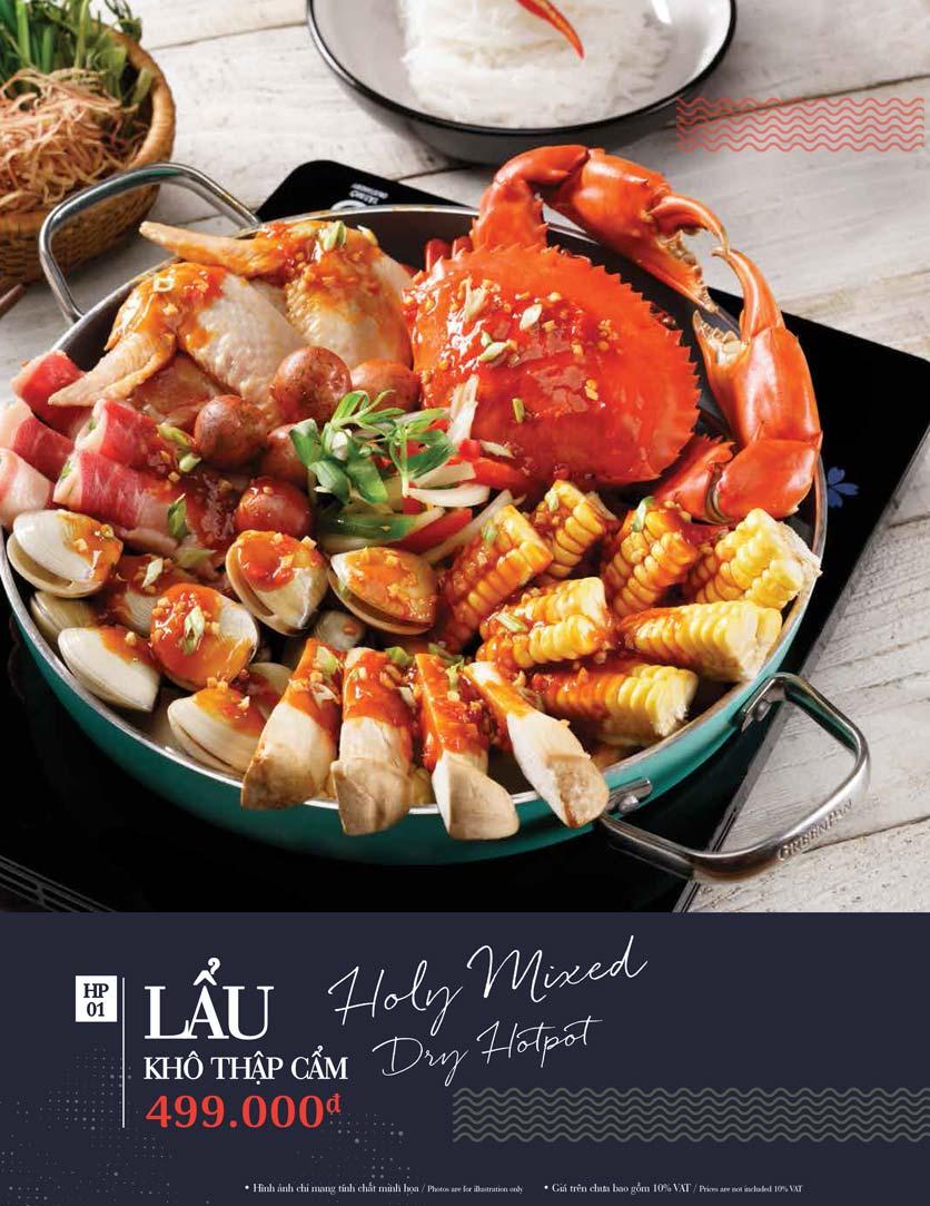 Menu Holy Crab – Phan Xích Long  19