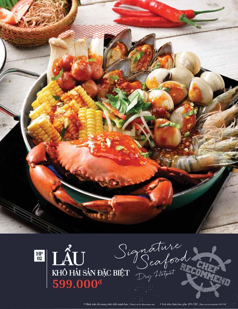 Menu Holy Crab – Phan Xích Long  20