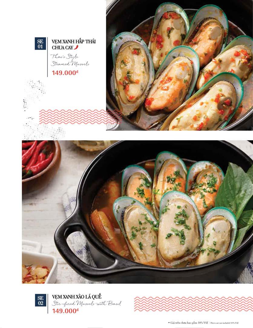 Menu Holy Crab – Phan Xích Long  21