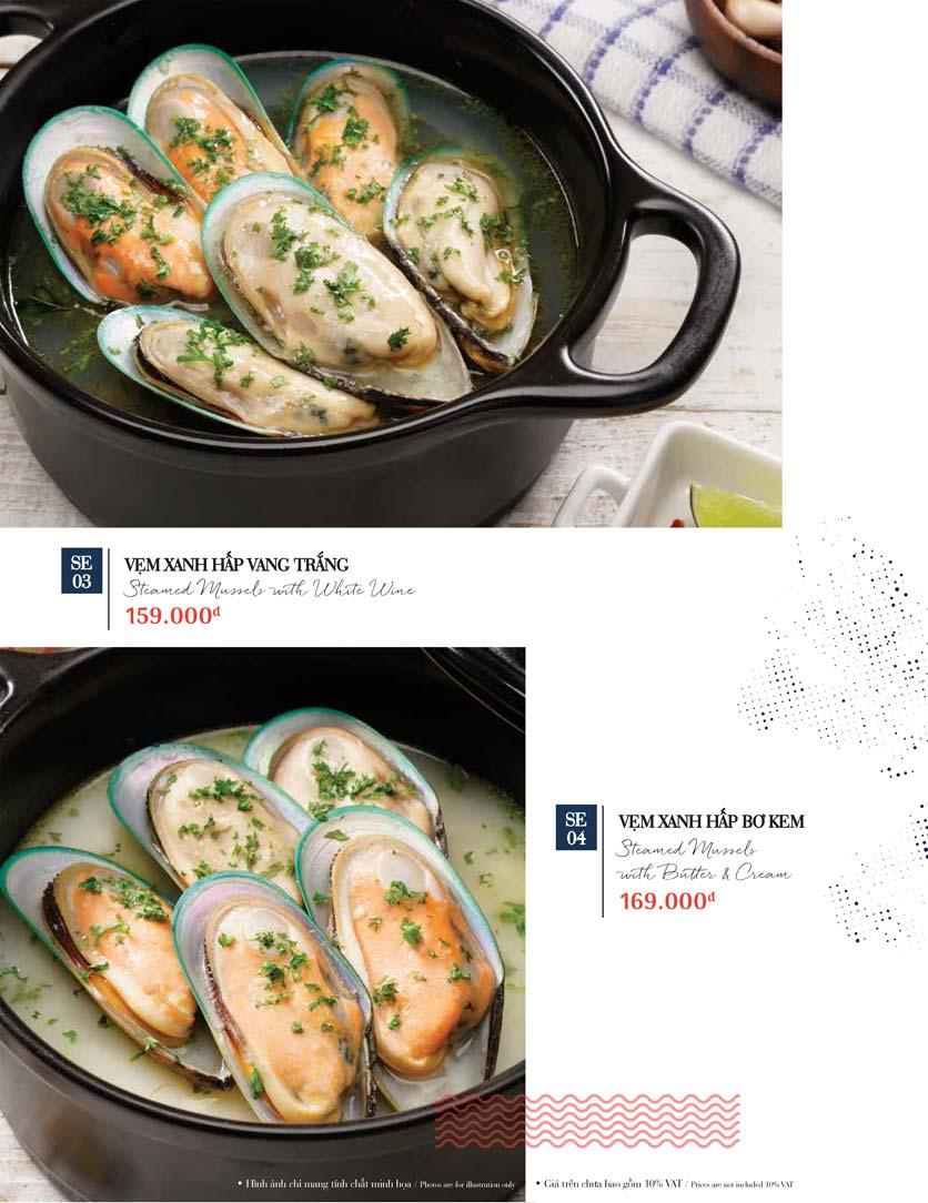 Menu Holy Crab – Phan Xích Long  22
