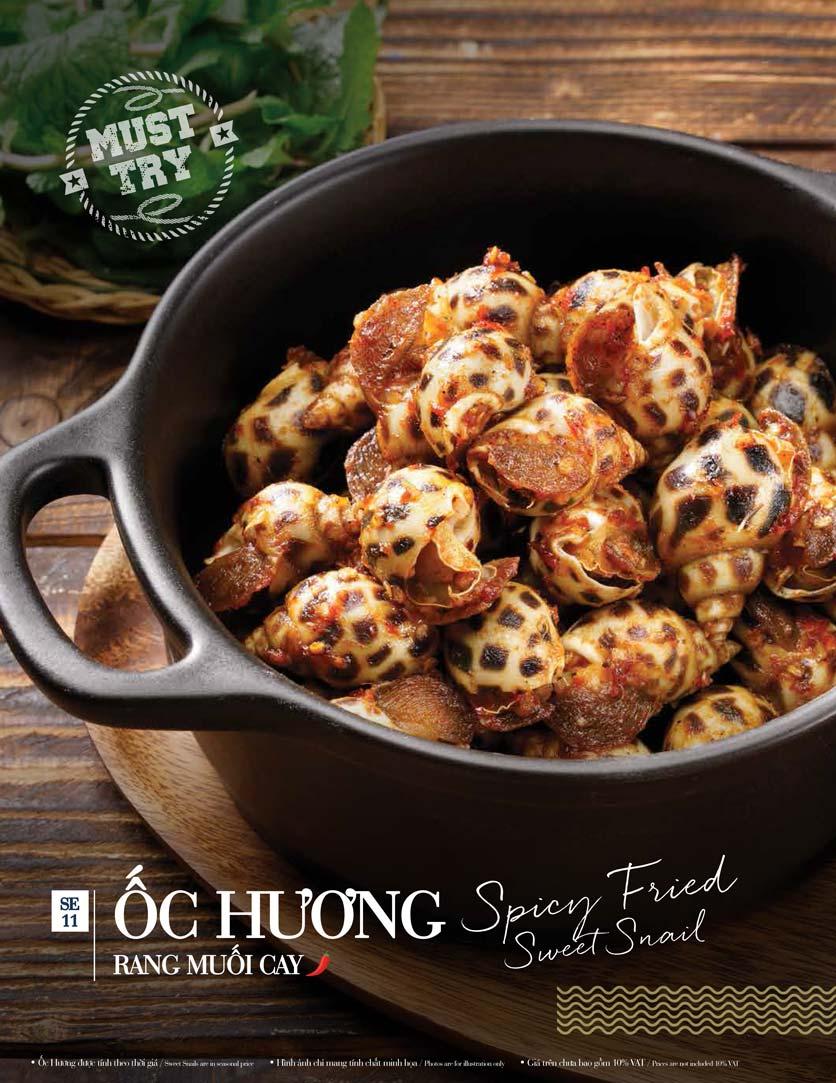 Menu Holy Crab – Phan Xích Long  26