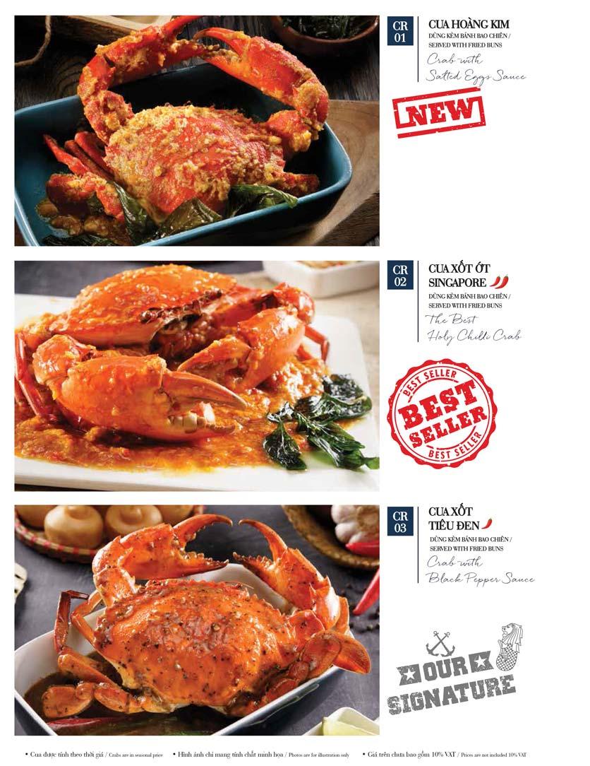 Menu Holy Crab – Phan Xích Long  9