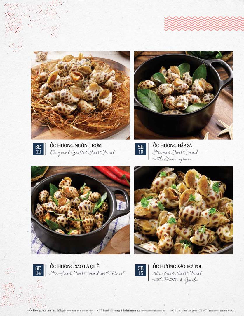 Menu Holy Crab – Phan Xích Long  27