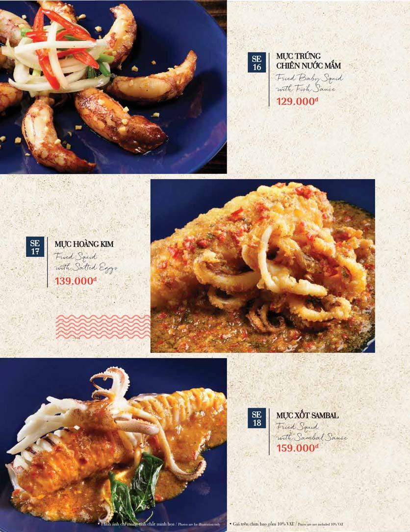 Menu Holy Crab – Phan Xích Long  28