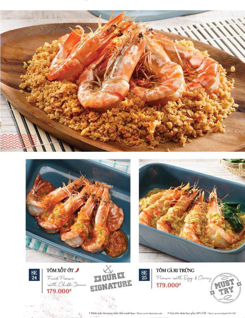 Menu Holy Crab – Phan Xích Long  31