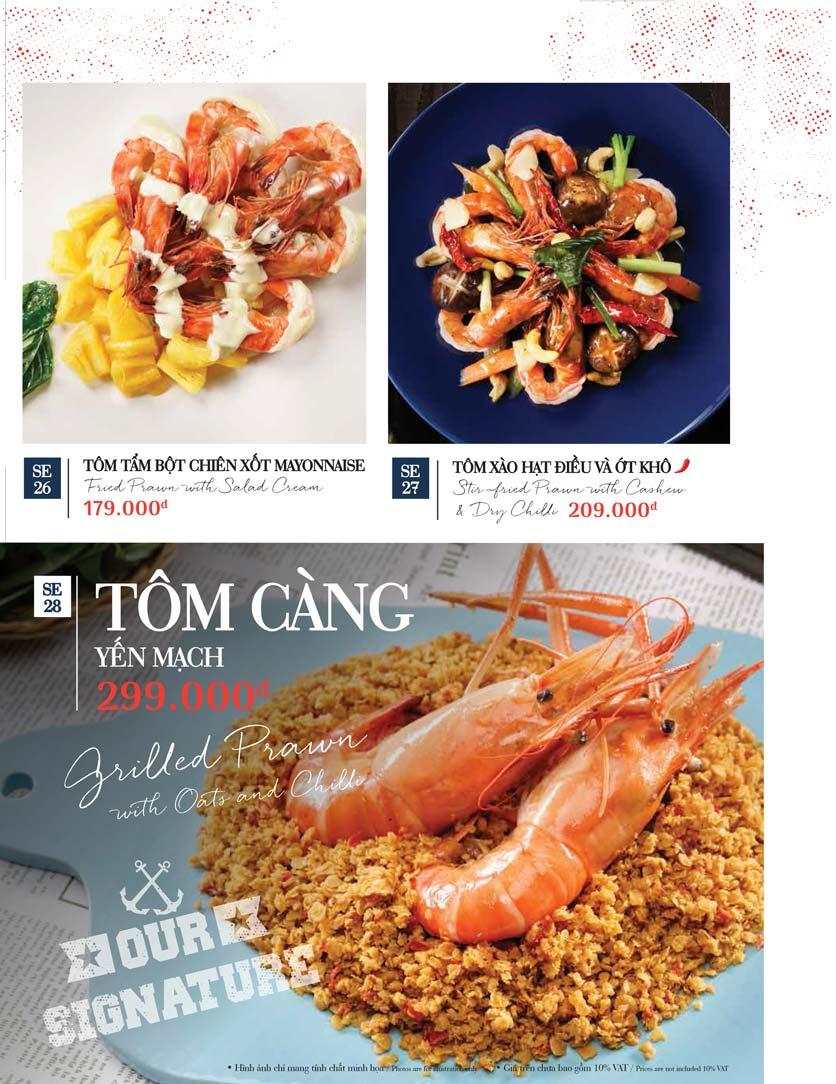 Menu Holy Crab – Vincom Metropolis Liễu Giai  32