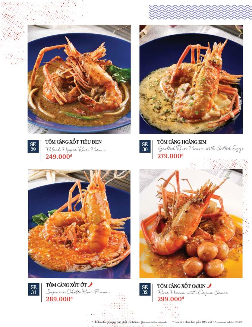 Menu Holy Crab – Phan Xích Long  33