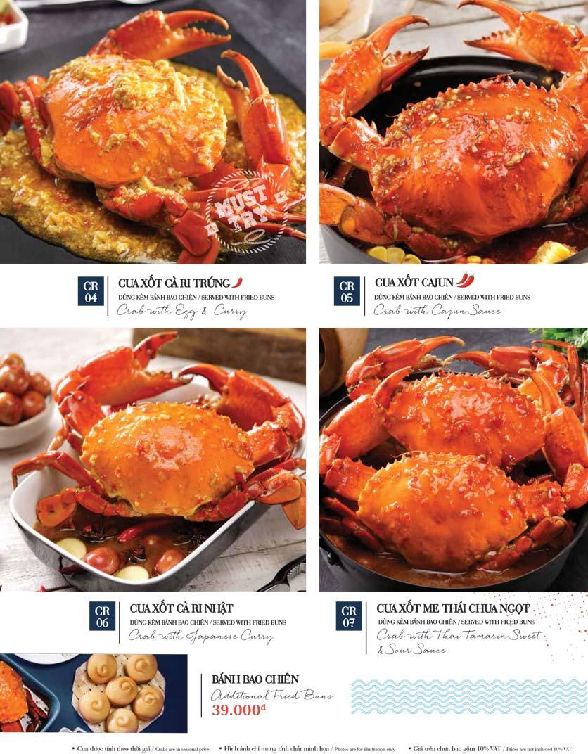 Menu Holy Crab – Phan Xích Long  10